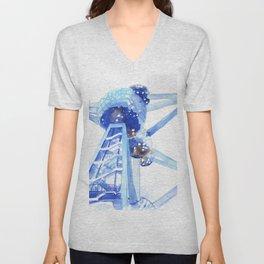 Atomium II Unisex V-Neck