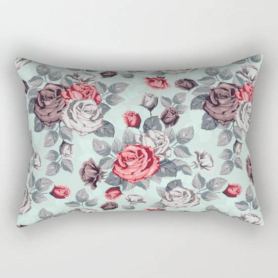 Flowers pattern2 Rectangular Pillow