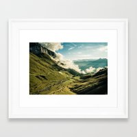 wander Framed Art Prints featuring Wander by StayWild