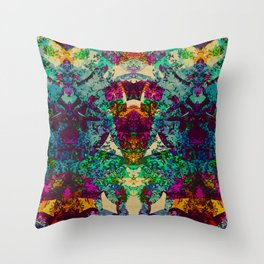 Decadence in Decay Throw Pillow