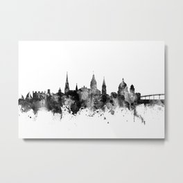 Annapolis Maryland Skyline Metal Print