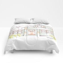 Green Craftsman Comforters