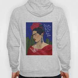 Frida Kahlo - Wings To Fly Hoody