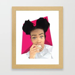 SZA Framed Art Print