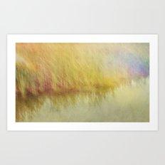 The Lakes Edge {Pretty Summer} Art Print