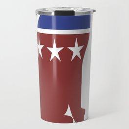 Democat democrat cat Travel Mug