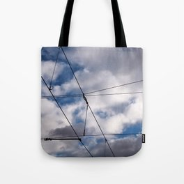 The SKY over BERLIN Tote Bag