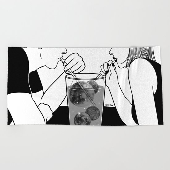 We are dreamers Beach Towel