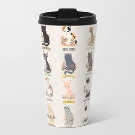 Cats Breed Travel Mug