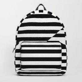 SCANLINES (BLACK-WHITE) Backpack