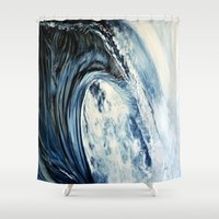 into the wild Shower Curtains featuring wild by Terrel
