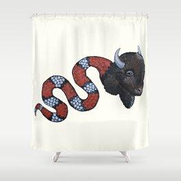 Snuffalo Shower Curtain