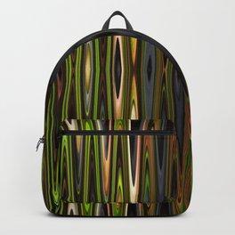 Green-Blue-Gray Zig-Zags Backpack
