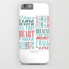 Walk the Line iPhone 6s Slim Case