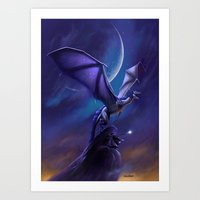 Dragon's Flight Art Print