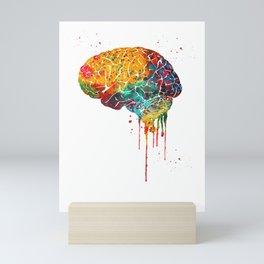 Human Brain Mini Art Print