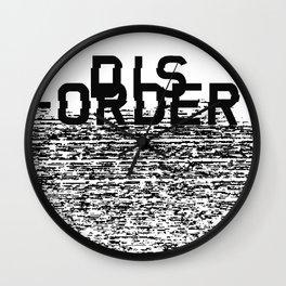 Dis-order Wall Clock
