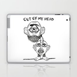 OUT OF MY HEAD Laptop & iPad Skin