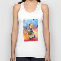 the little prince Tank Tops featuring Little Prince by Jose Luis Ocana