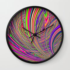 Re-Created  Hurricane 8 by Robert S. Lee Wall Clock