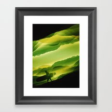Plastic Surfing Framed Art Print