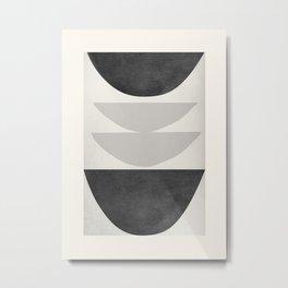 Abstract Shapes 24 Metal Print