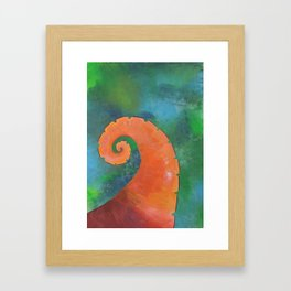 Octopus 2: Keep Out of the Depths Framed Art Print