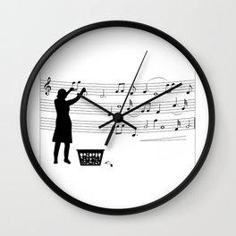 making more music Wall Clock