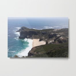 Cape Of Good Hope Coastline, South Africa Metal Print