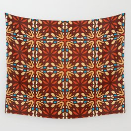 Abstract geometric retro seamless pattern Wall Tapestry