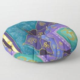 Spiritual Aspiration Mandala Floor Pillow