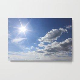 Let the sun shine Metal Print