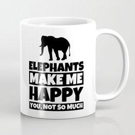 Elephant Lover Gifts - Funny Elephants Humor Coffee Mug