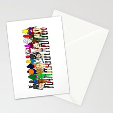 Superheroine Butts - Group Stationery Cards
