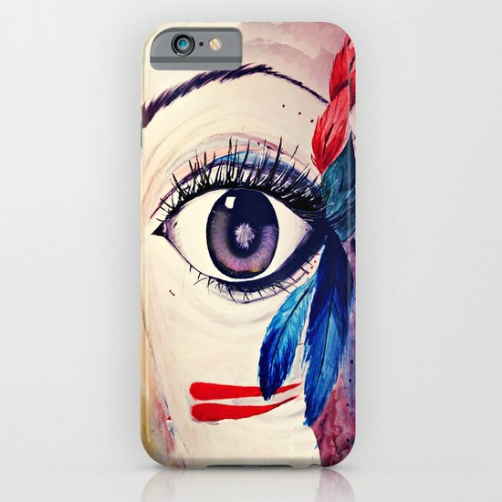 native american eye iPhone & iPod Case