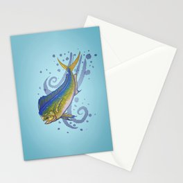 Mahi Mahi ~ Coryphaena hippurus ~ (Copyright 2015) Stationery Cards