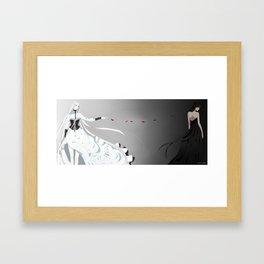 Apart  Framed Art Print