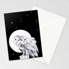 Mutant Owls Stationery Cards