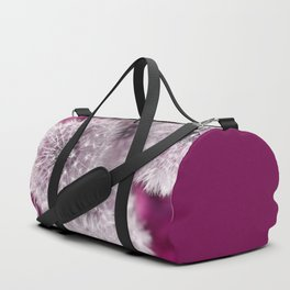 Dandelion pink Duffle Bag