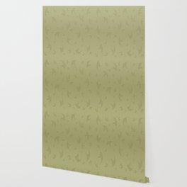 Locust Green Smoke Wallpaper