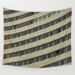 Contemporary Stern Living Wall Tapestry