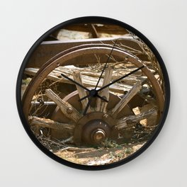 wagon wheel Wall Clock