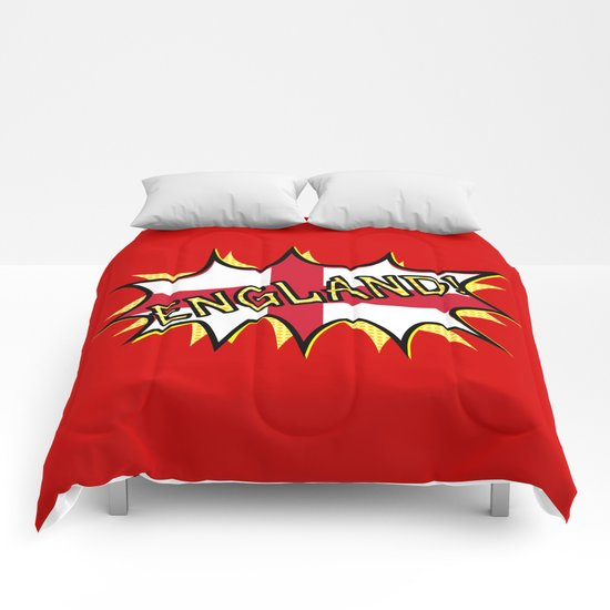 Flag of England POW star Comforters