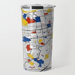 San Francisco Mondrian Travel Mug