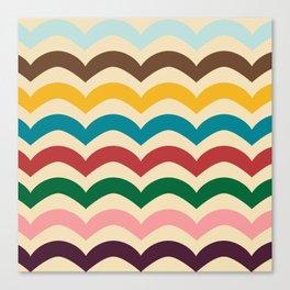 sweet summer waves Canvas Print