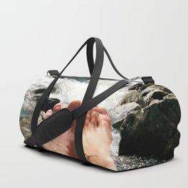verpeil valley cold river feet kaunertal tirol austria europe Duffle Bag