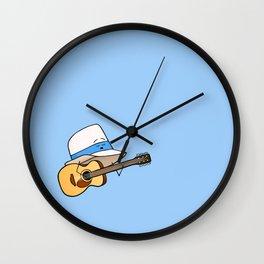 Fedora Crooner Wall Clock