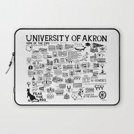 University of Akron Ohio Laptop Sleeve