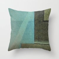 aquarius Throw Pillows featuring Aquarius by Fernando Vieira