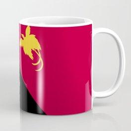 Papua New Guinea flag emblem Coffee Mug